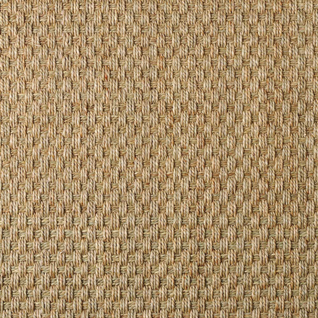 Seagrass Balmoral Basketweave 3107 Natural Carpet