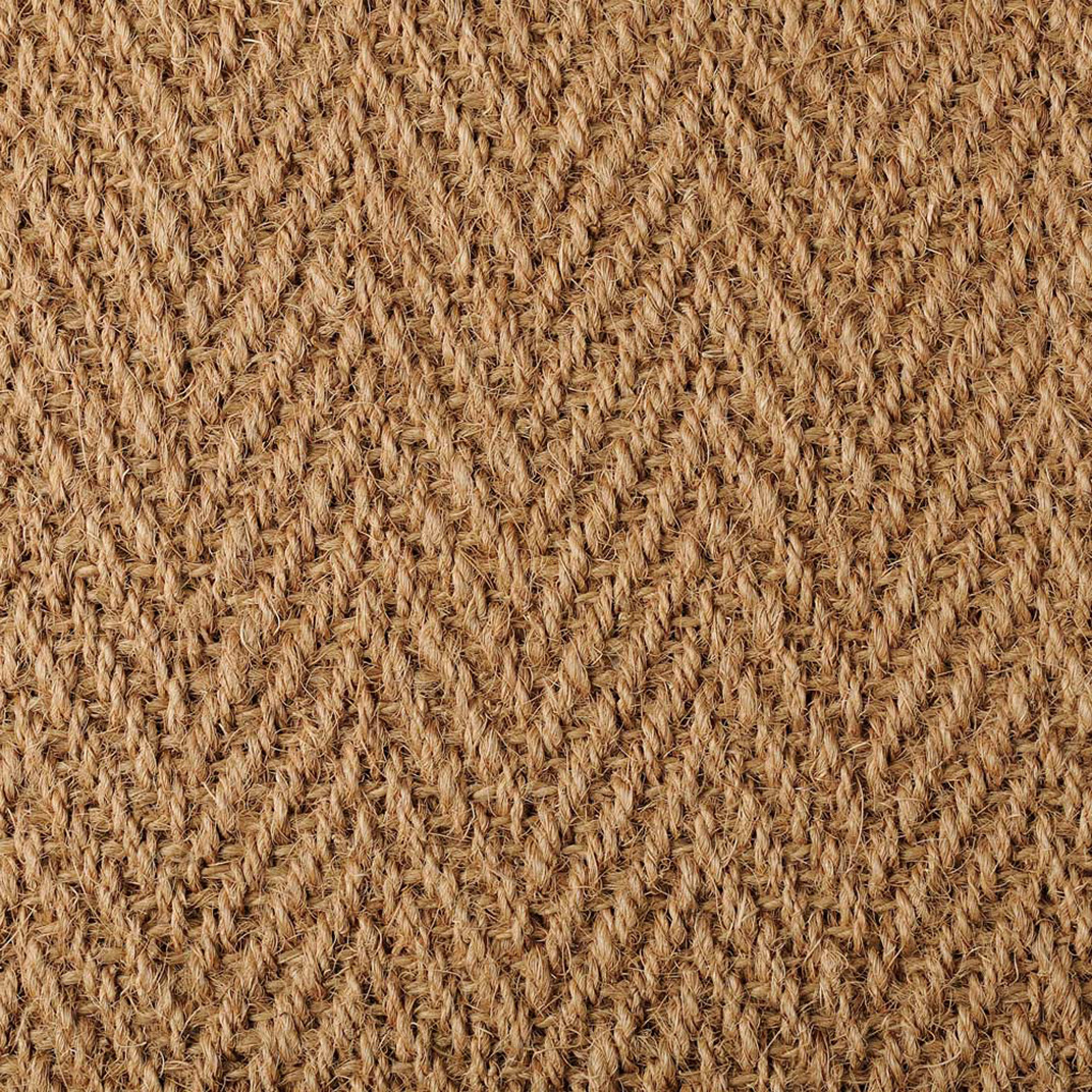 Coir Herringbone Natural 4603 Natural Carpet